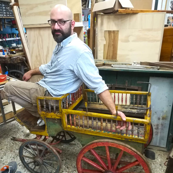 Giacomo Capperi artista restauratore Firenze