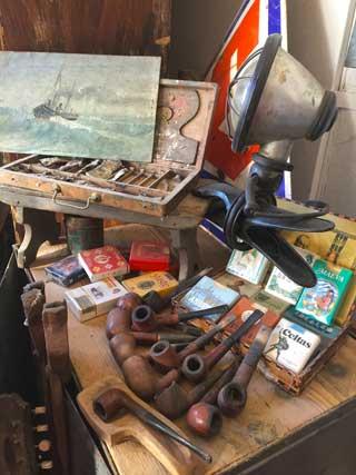 Oggetti di antiquariato vintage e modernariato